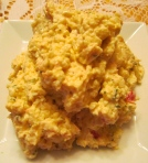Spicy Crab Dip & Eggs