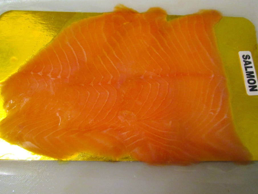 Smoked Salmon, Sliced