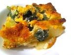 Spinach, Potato, Sausage & Cheese Casserole
