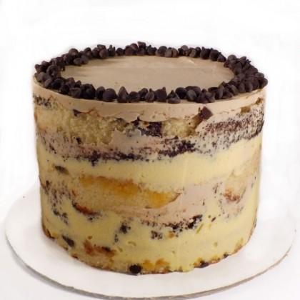 Amaretto & Chocolate Chip Sponge Cake