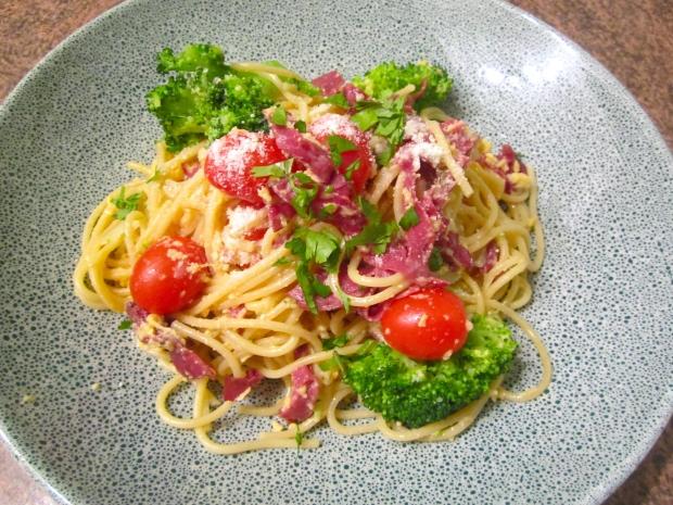 "Spaghetti  ""Graubündner Style"""