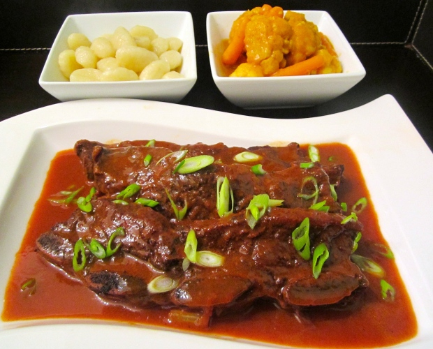 Braised Beef Ribs In Red Wine