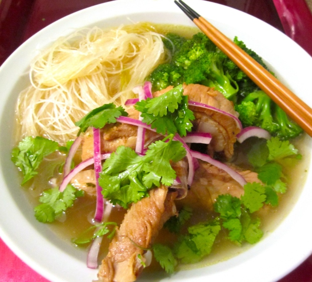 Kluay Teaw Moo Toon (Variation Of A Thai Pork Spareribs Noodle Soup)