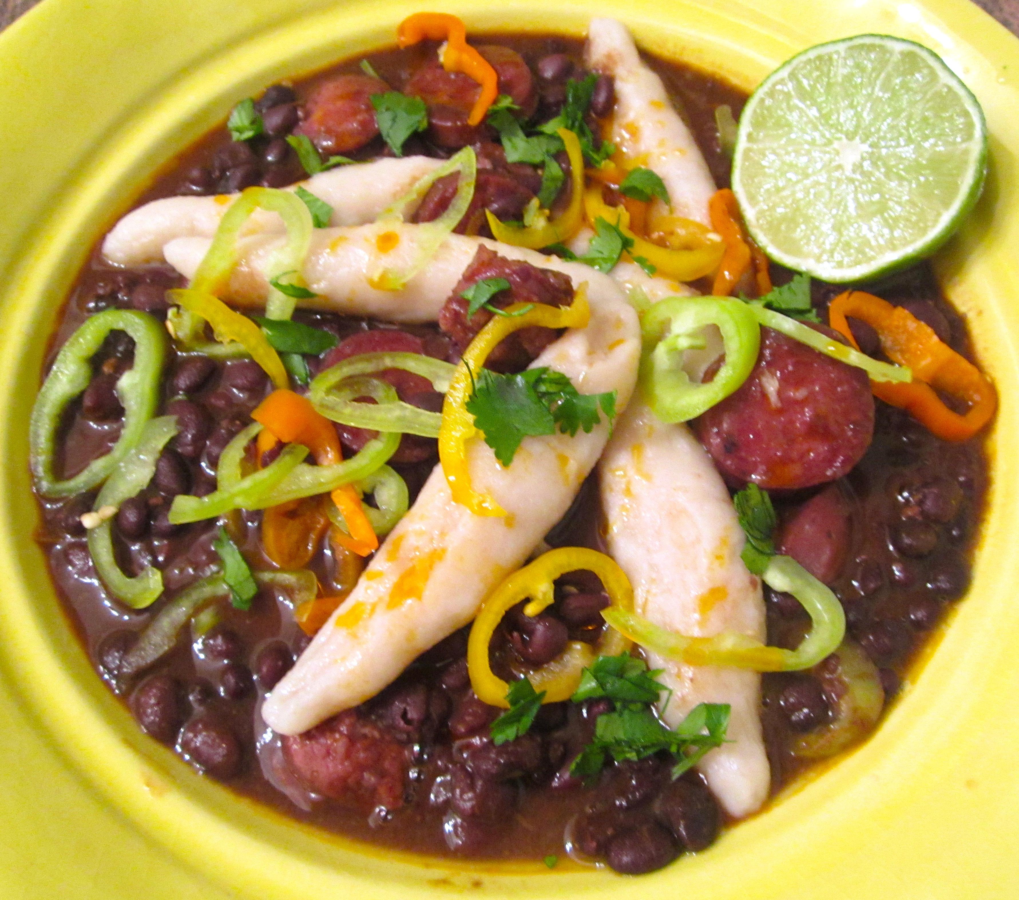 """Jamaican Black Bean Soup & Flour Dumpling's ( A """"Light"""" Saturday ..."""