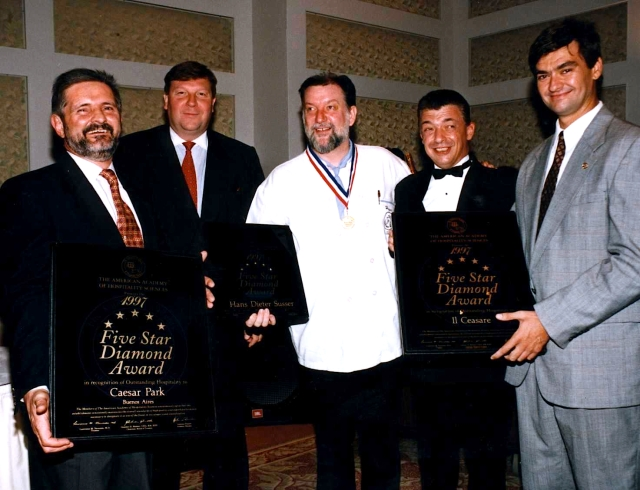 hans susser five star diamond award