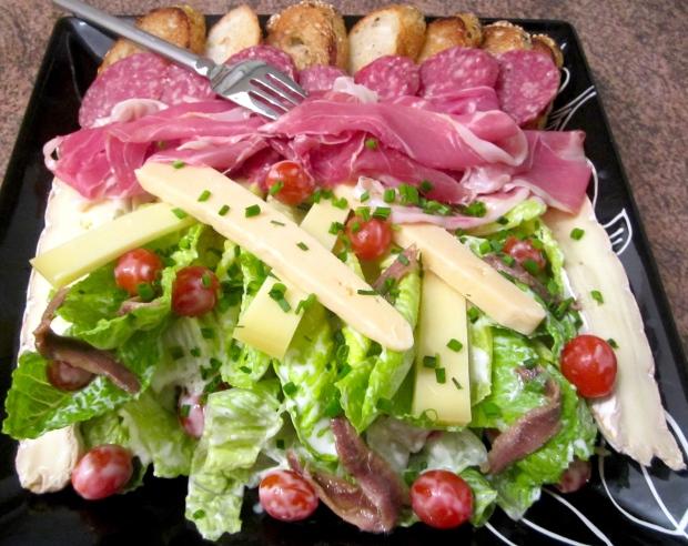"Ceasar Salad ""Royal"""