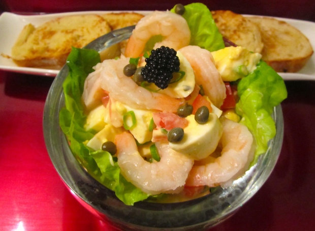 Egg Salad With Shrimp & Caviar