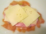 Top With Ham And Swiss Cheese