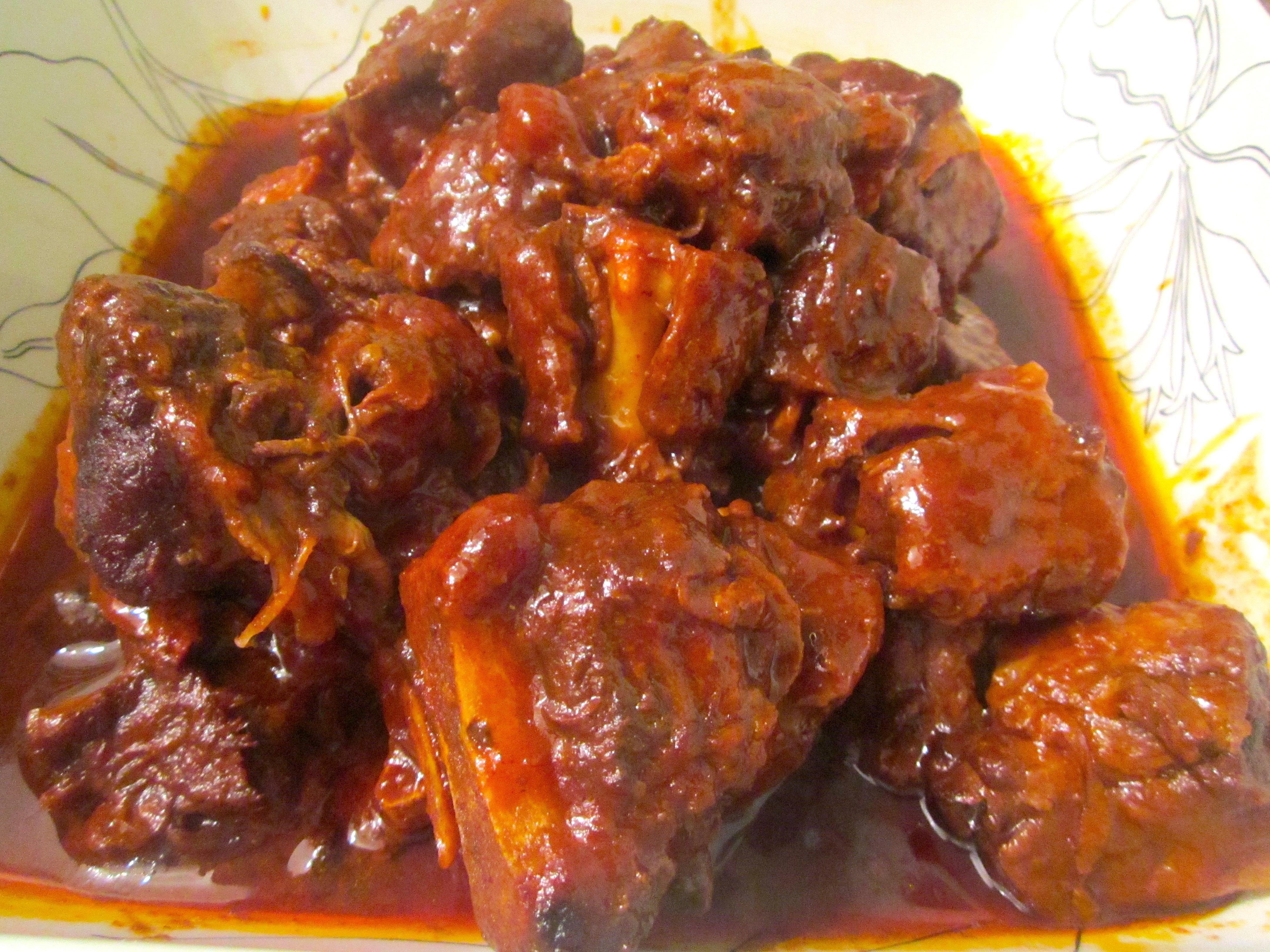Rabo Encendido ( Oxtail Stew ) | Chefsopinion