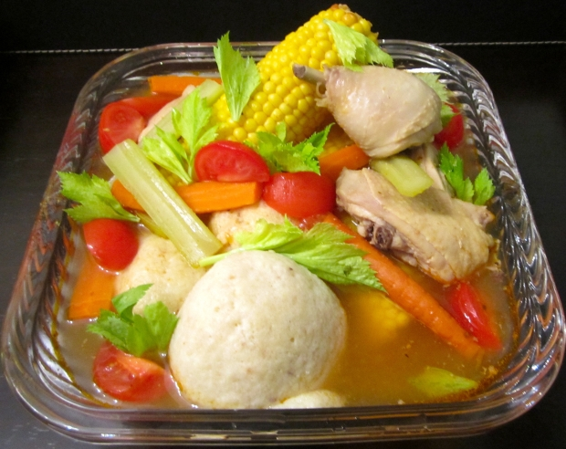 Chicken Soup With Root Vegetables And Matzo Balls