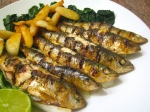 Grilled Portuguese Sardines