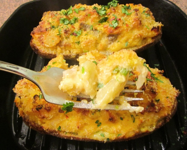 Crab - Stuffed Twice Baked Potato