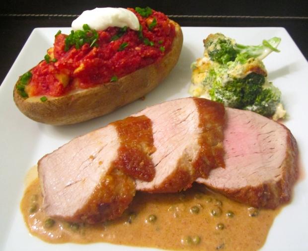 roast pork tender loin