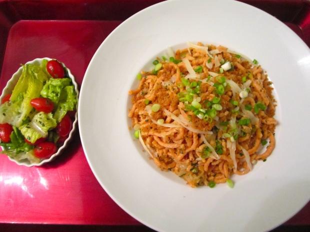 Tomaten - Käse Spätzle