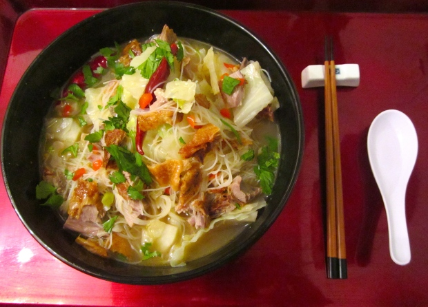 Duck & Glass Vermicelli Soup
