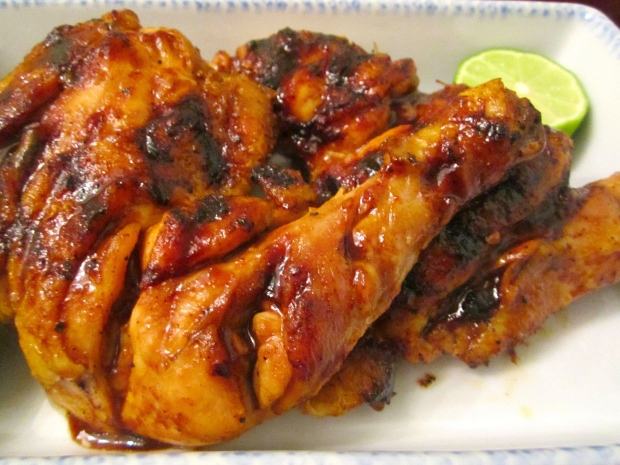 hoi sin grilled chicken leg's