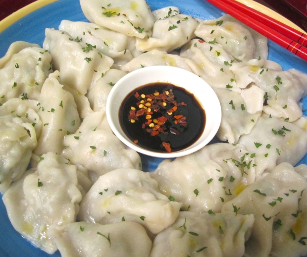 Pork And Shrimp Dumplings