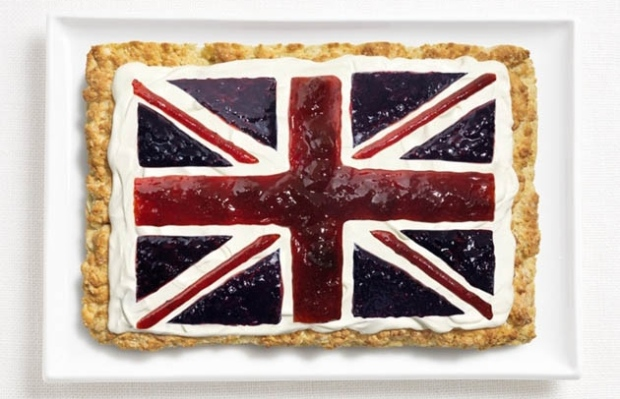 United Kingdom -  scone, cream and jams