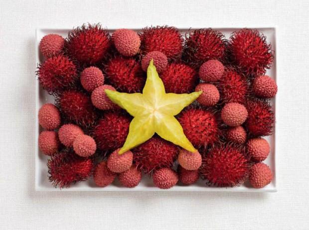 Vietnam -  rambutan, lychee and starfruit