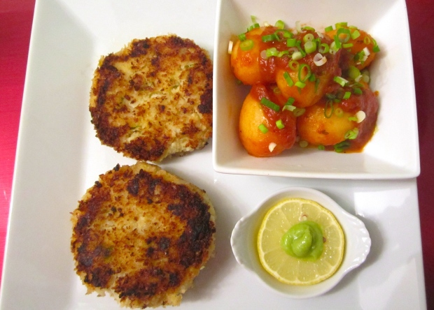 Sauteed Pickled Herring And Potato Patties