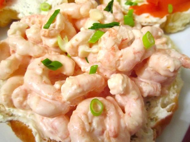 Shrimp Salad Croissant