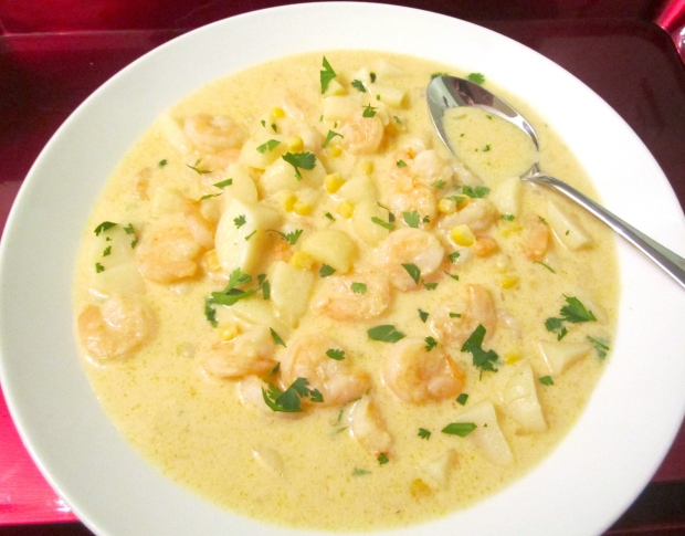 Caribbean Shrimp & Coconut Soup