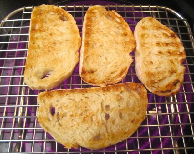 grill italian garlic bread