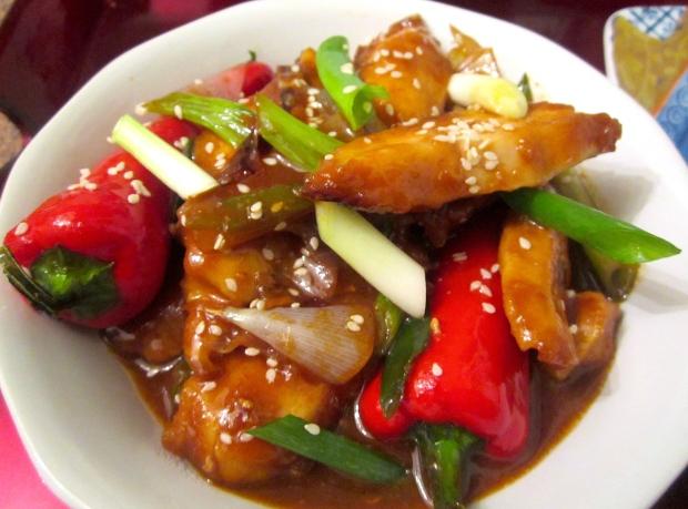 Szechuan Chicken & Fan