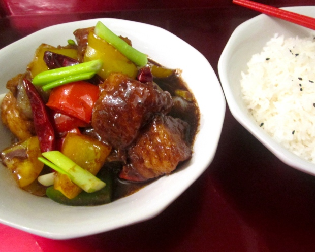 Stir Fried Sea Bass In Black Bean Sauce
