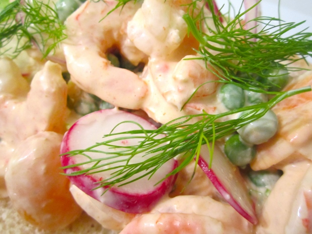 Old Fashioned Shrimp Roll