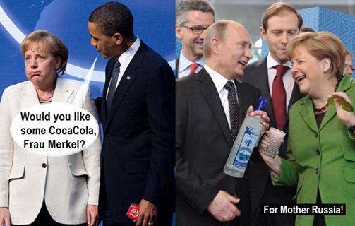 Cheers Frau Merkel :-)