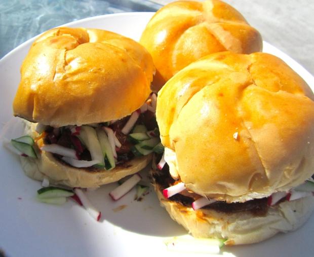 Hans' Pork Belly Bun The actual dinner portion :-) :-(