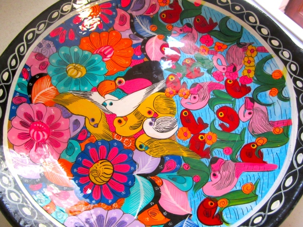 choose a pretty serving dish :-)
