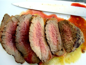 slice meat
