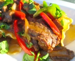 Curried Beef & Pasta