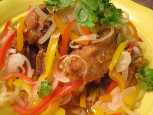 Pollo En Escabeche