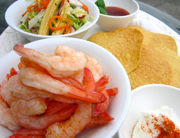 Shrimp Tostada