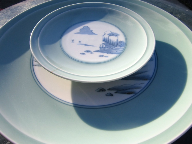 Japanese Plate And Serving Platter