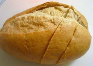 slice bread into thick (dare I say monstrous) slices