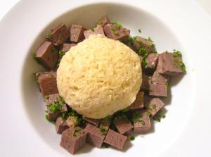 add matzoball to beef