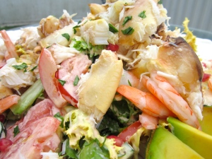 Stone Crab And Shrimp Salad