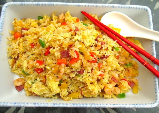 Shrimp And Lap Cheong Fried Rice