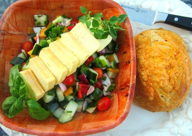 Greek  (Limburger)  Salad