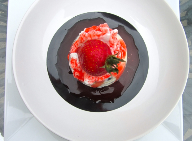 Vanilla Pudding Chuckfull With Berries