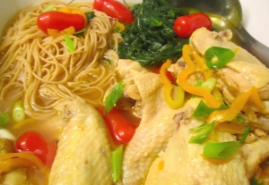 Chicken Noodle Soup With Whole Grain Pasta And Vegetables