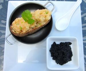 Eggs And Potato (Caviar And Baked Potato)