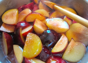saute until caramelized and released juices have formed a syrup