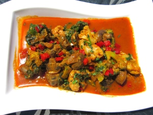 plate veggie-curry