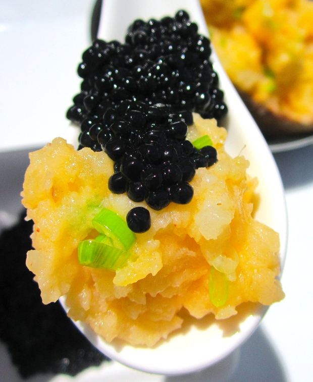 Eggs And Potato (Caviar And Baked Potato)