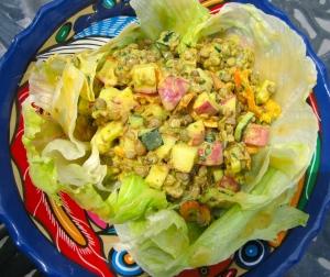 add lentil salad